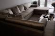 Luxury bankstel op maat in fluwele stof