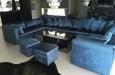 Velours hoekbank op maat Style & Luxury